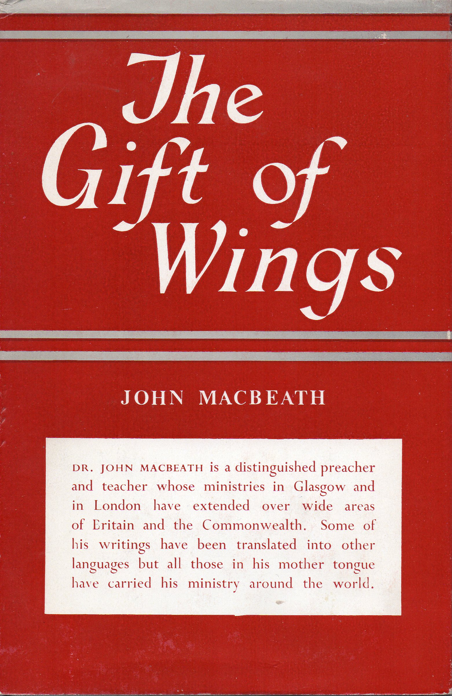 Image for The Gift of Wings