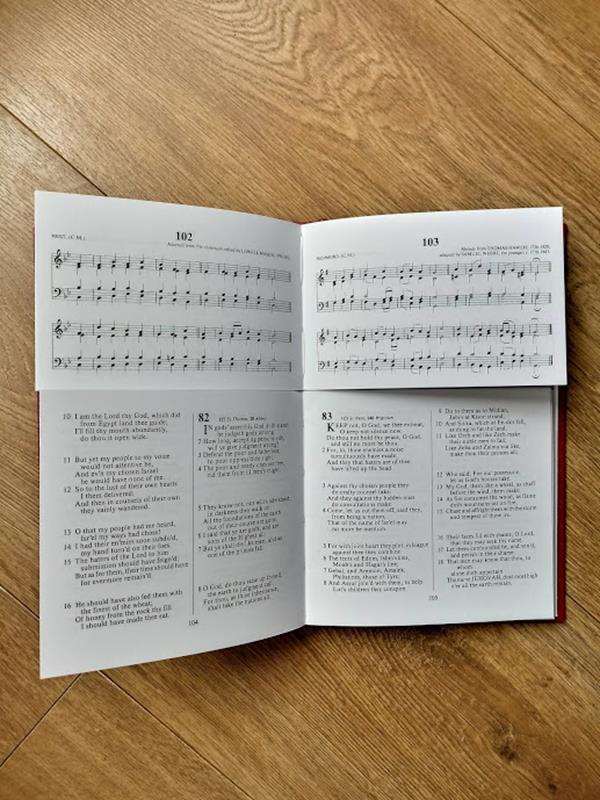 Image for The Scottish Psalmody (staff music edition)