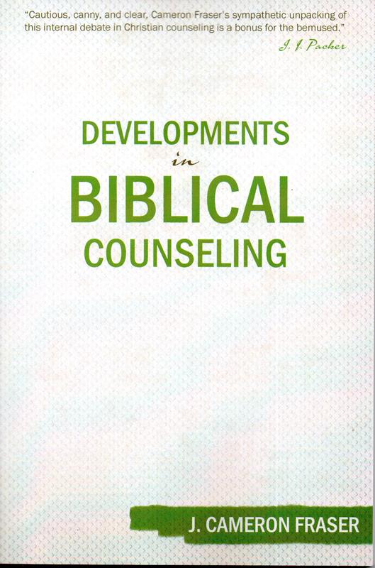 Image for Developments in Biblical Counseling