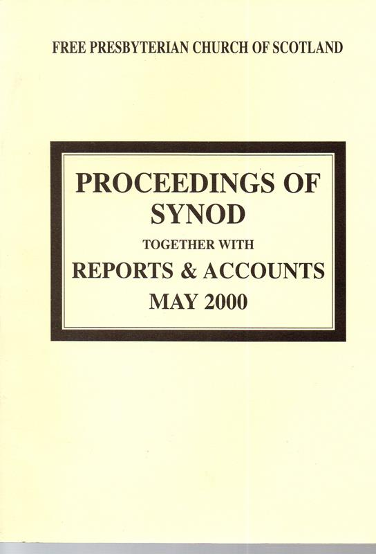 Image for Proceedings of Synod: Together with Reports and Accounts May 2000