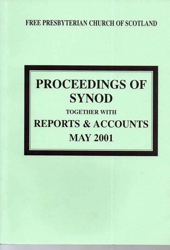 Image for Proceedings of Synod: Together with Reports and Accounts May 2001
