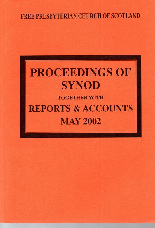 Image for Proceedings of Synod: Together with Reports and Accounts May 2002