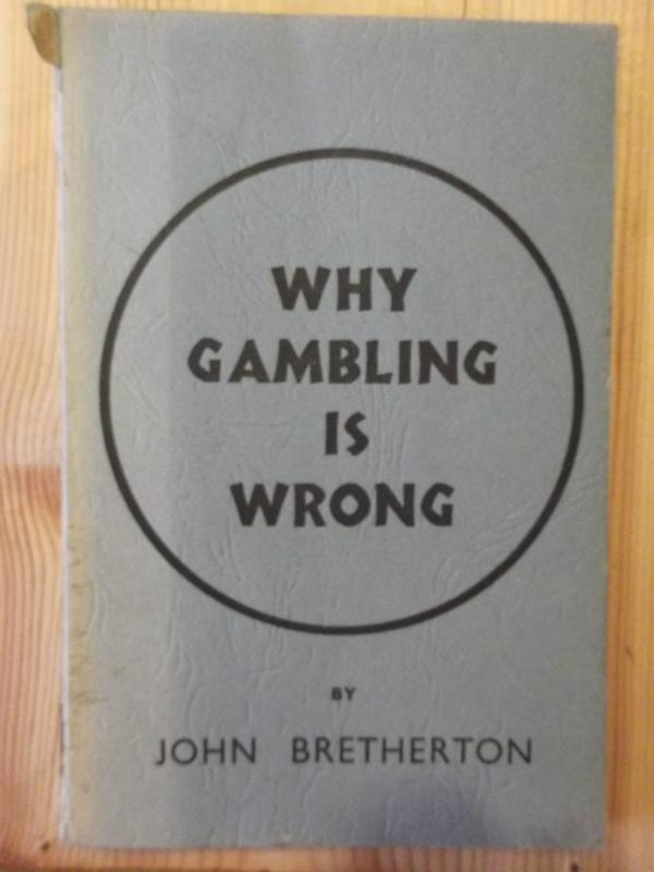Image for Why Gambling is Wrong