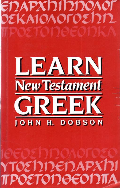 Image for Learn New Testament Greek
