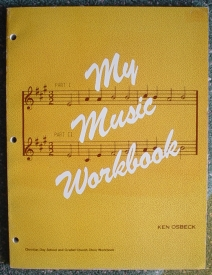 Image for My Music Workbook