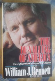 Image for The De-Valuing of America: The Fight for Our Culture and Our Children (The Devaluing of America)